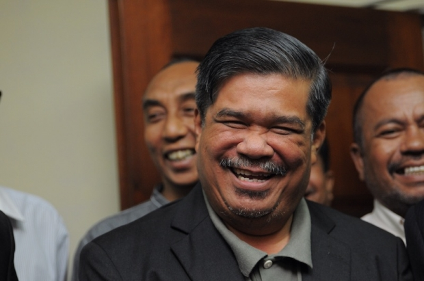 mat sabu laughing Image from The Malay Mail Online