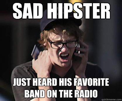sad hipster music