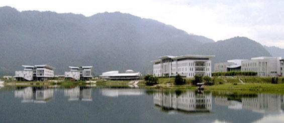 Universiti Tunku Abdul Rahman's Kampar campus. Pic from www.utar.edu.my