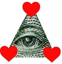 Tiada yang mencurigakan di sini hoke. Ini cumalah segitiga cinta yang biasa.