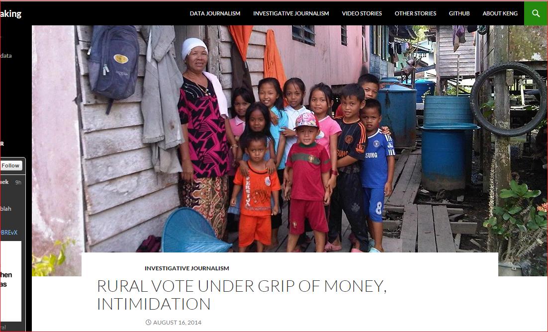 kapitan chinese rural voter cash handout BN Screengrab from