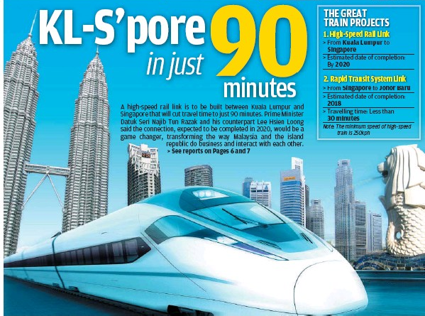KL singapore railway project. Image shared by Nazrey on Lowyat Forum