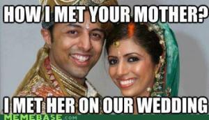 arranged wedding