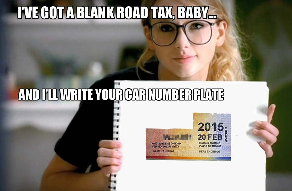 taylor swift road tax