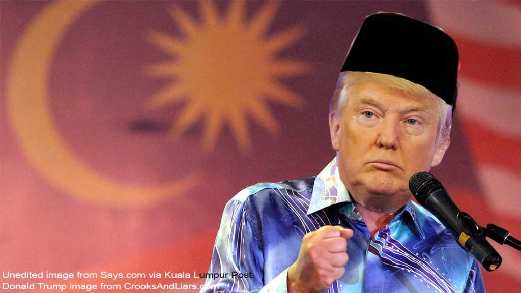 Image result for donald trump and najib