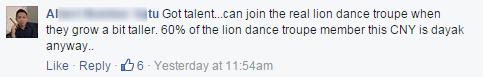 dayak cny comment1