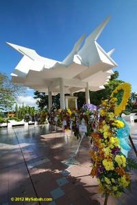 The Petaga War Memorial in Kota Kinabalu. Image from: mysabah.com