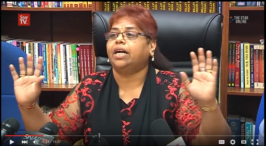 P.I. Bala s wife apologises to Rosmah storms out of press conference followed by lawyer Ramesh Rao YouTube