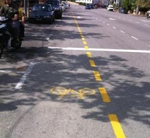 bicycle lane laluan basikal melaka. Image from dayat2020.blogspot.my.