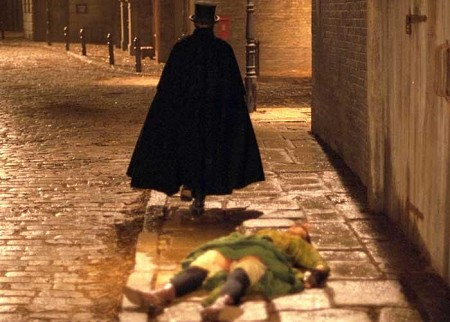 Jack The Ripper's version of 'drop the mic and walk away'. Image from: tntdownunder.com