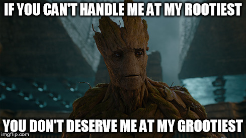 groot guardians galaxy Image from reddit