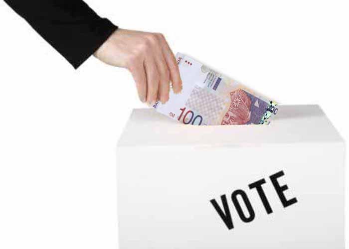 vote buying ringgit