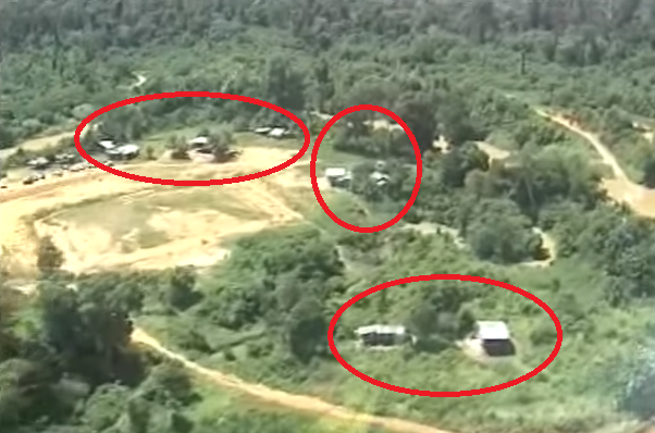 murut settlement maliau basin. Screenshot from ABCToursSabah on YouTube