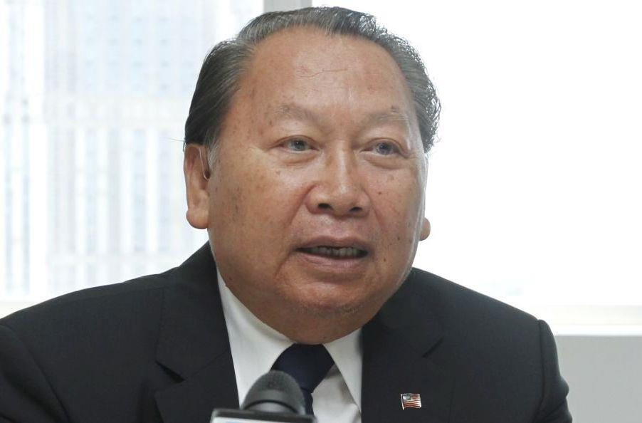Tan Sri Pairin Kitingan is still a serving Deputy Chief Minister of Sabah. Image from The Star.