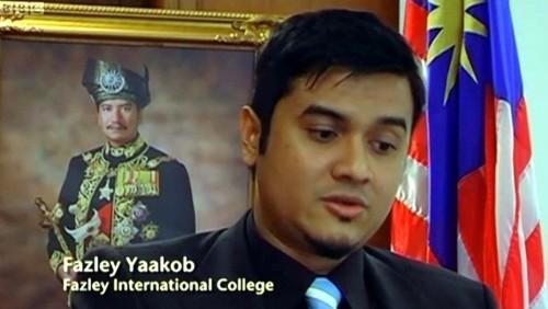fazley yaakob fake degree Image from dcscience.net.