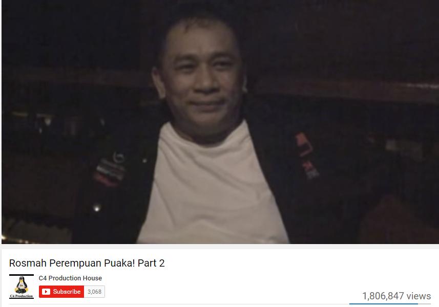 rosmanuddin mansor. Screenshot from YouTube video