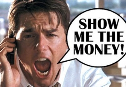 tom cruise show me the money MLM
