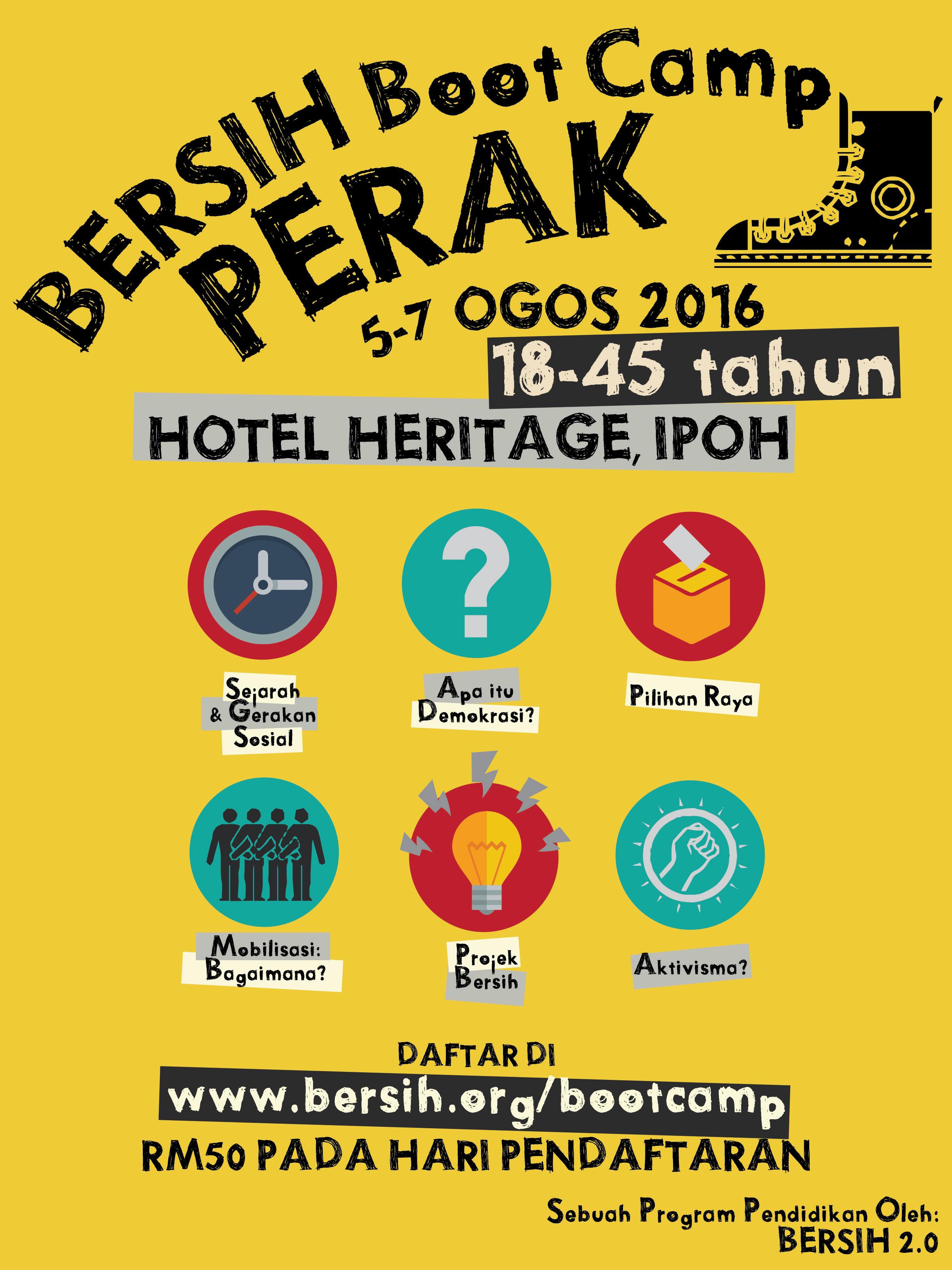 bersih boot camp