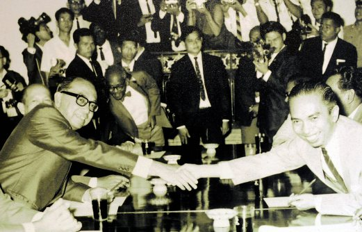 When both parties are willing to seat down and talk, peace wins! Image from bharian.com.my