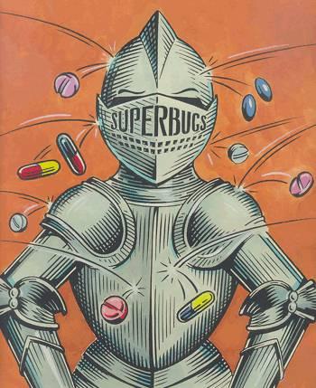 superbugs-throw-pills-at-armour