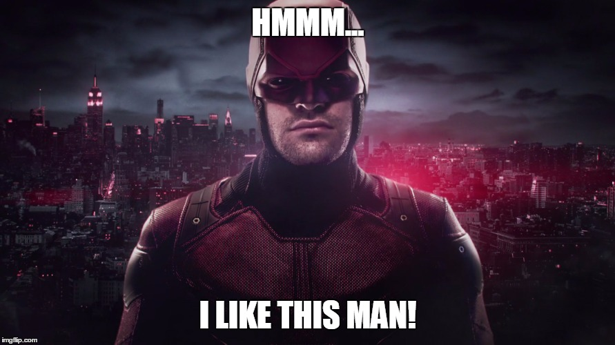 DareDevil approves! Unedited image from herocomplex.latimes.com