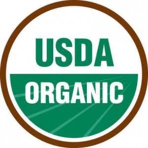 *chopped* Certified organic!