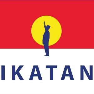 That's Tunku Abdul Rahman in the background! Image from YouTube channel Parti Ikatan Bangsa Malaysia
