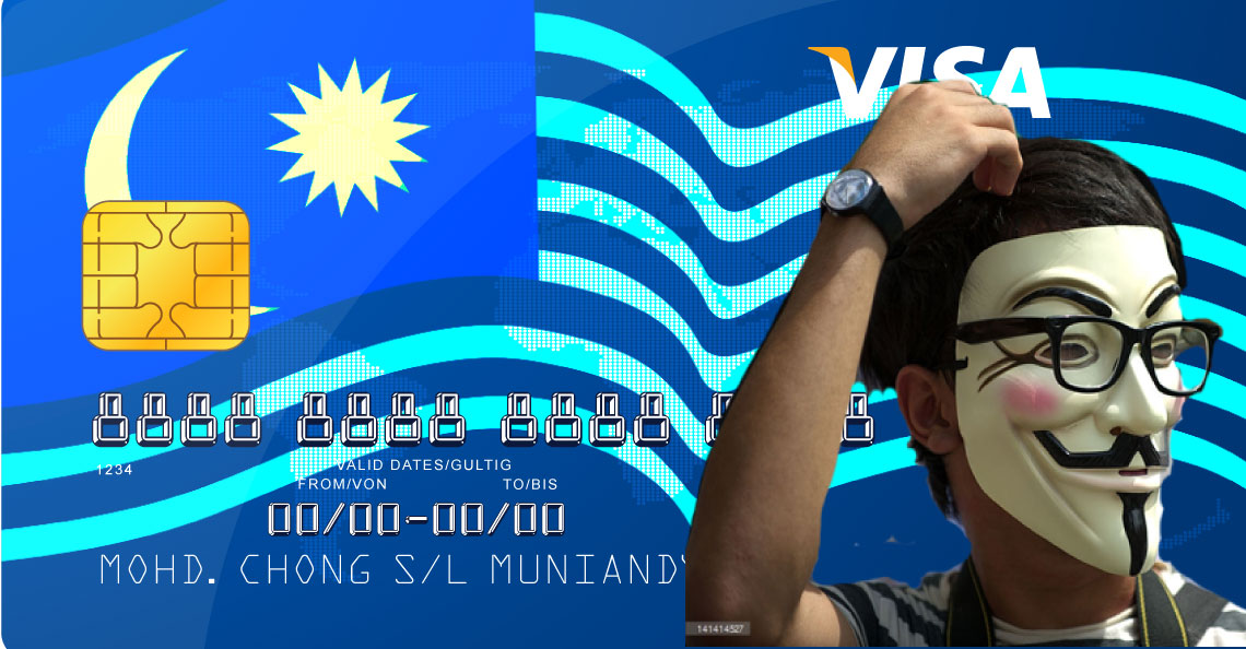 Is it true that new Malaysian bank cards can kena hack?
