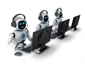 robot call phone