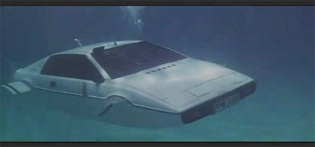 To be fair, it does look kinda like James Bond's submarine car. Source