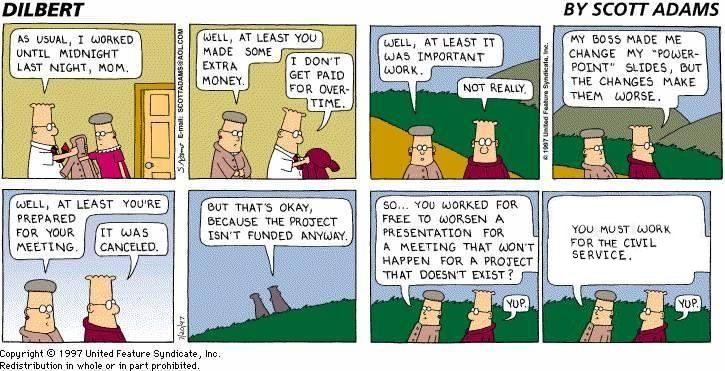 dilbert civil service