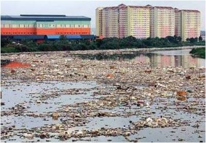 klang river disgusting rubbish pollution
