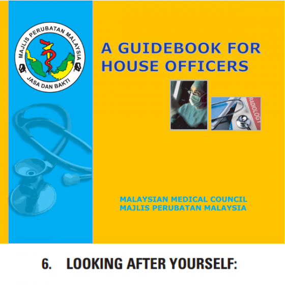 There's a helpful section on self help in the guidebook for house officers :) (It's on page 41!)