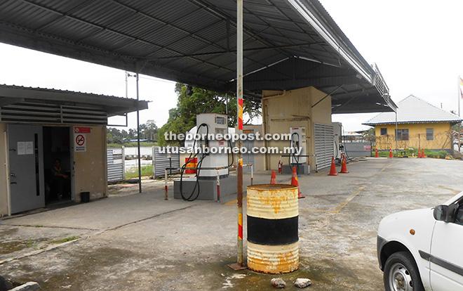 petrol station marudi
