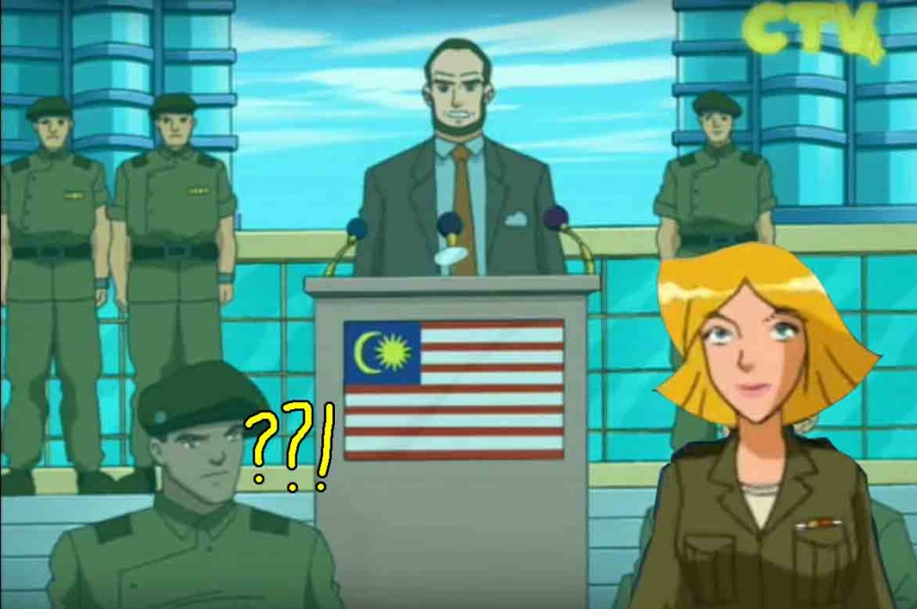 totally spies malaysia