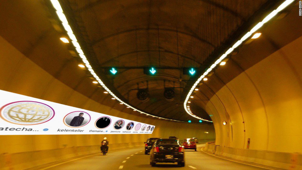 SMART tunnel will now have stories!! Unedited image from says.com