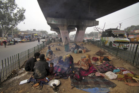 Homelessness in India is a massive issue. Photo from kufarooq3.blogspot.my
