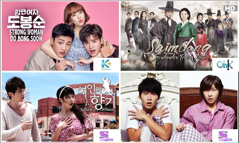 Just a few of the K-dramas now available on Astro On-Demand at watchod.com