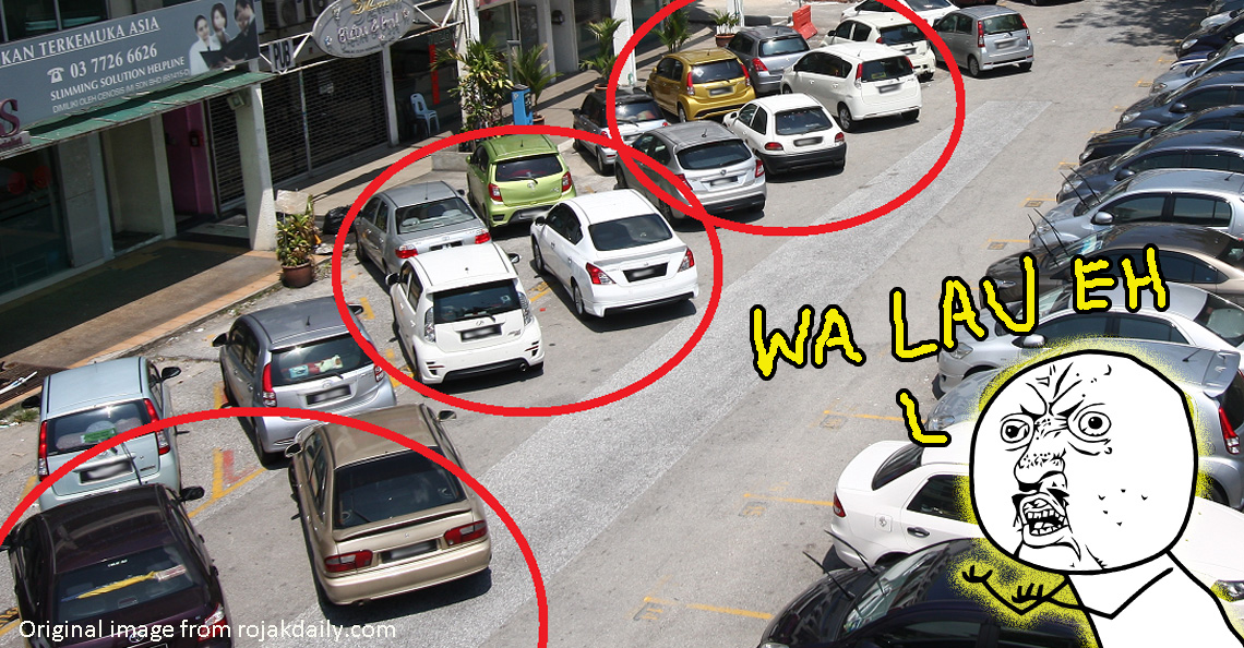 We've written on double-parking before. Click image to read it.