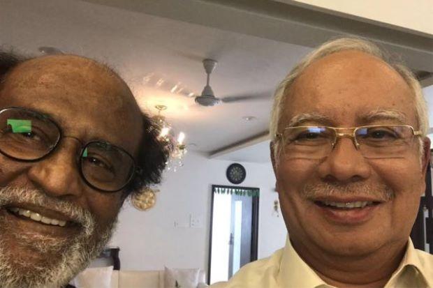 Plus, if Rajnikanth found us worthy of a selfie... Photo by PM Najib taken from thestar.com.my