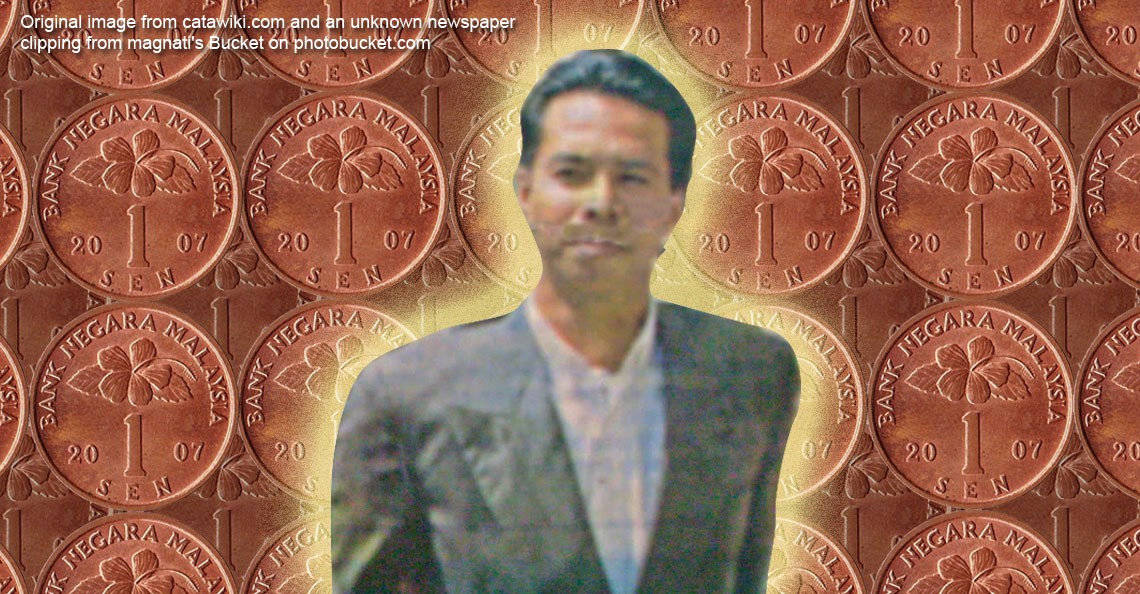 The crazy story of how this Malaysian 1-cent thief became…a