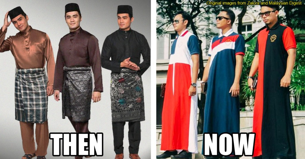 Then Vs Now 6 Things That Have Evolved In Traditional Malay Fashion Cilisos Current Issues