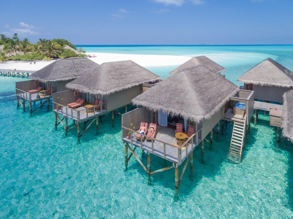 This decent water villa itself costs RM2,359... PER NIGHT!