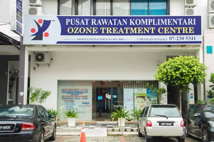 What is ozone therapy, and why is Malaysia completely