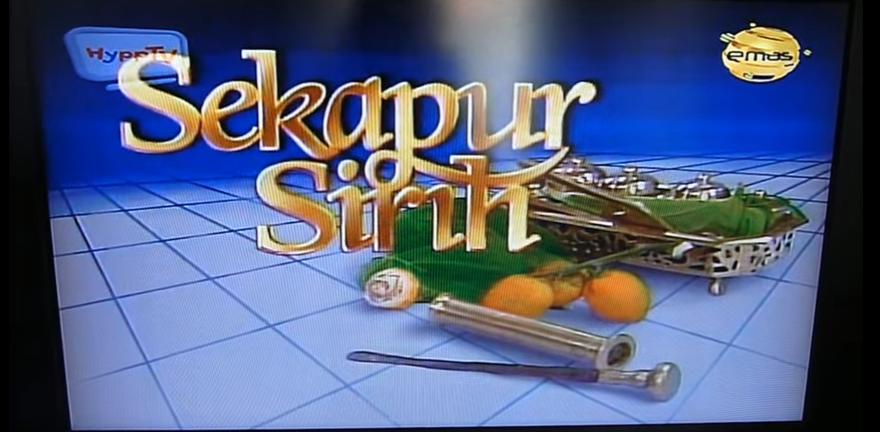 sekapur sirih tv3 programme aman shah