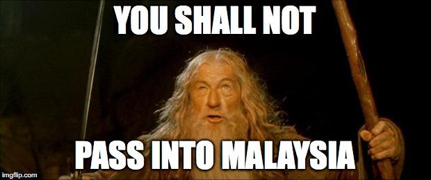 Malaysian Embassy be like