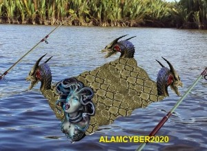A more literal depiction of the supposed carpet creature. Image also from Alamcyber2020.