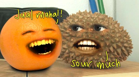 annoying orange durian jual mahal