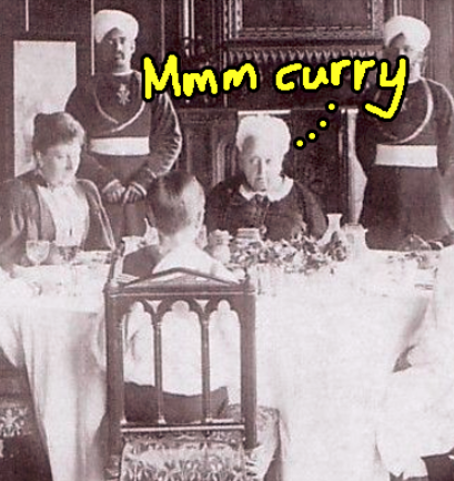 queen victoria curry