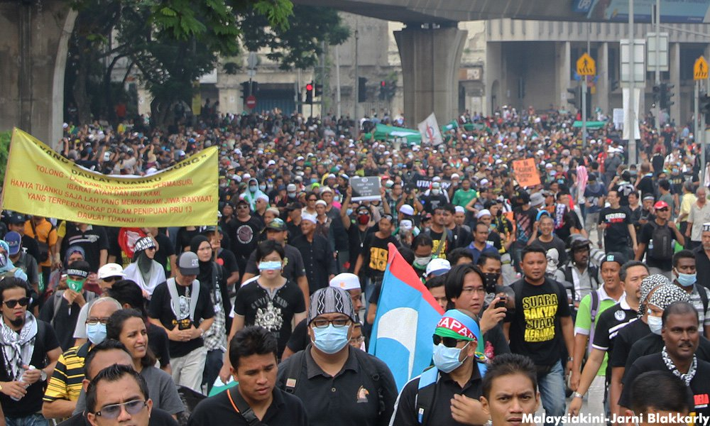 blackout 505 rally rafizi fined